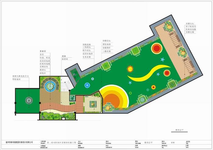 别墅庭院景观设计 景观设计分析图 滨水景观平面图