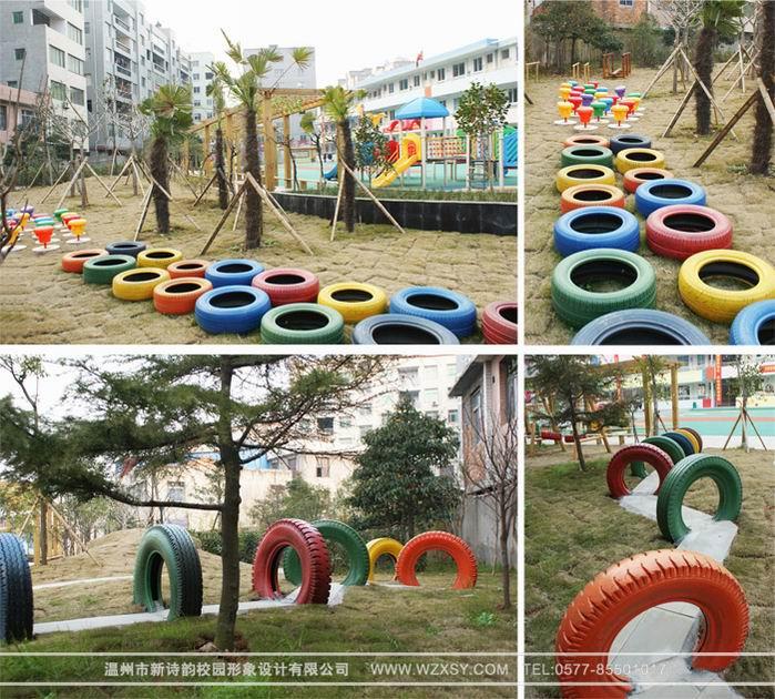 国外幼儿园沙池设计